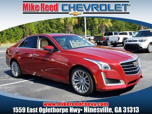 2016 Cadillac CTS Sedan LUXURY COLLECTION RWD 4dr Car Slide 0