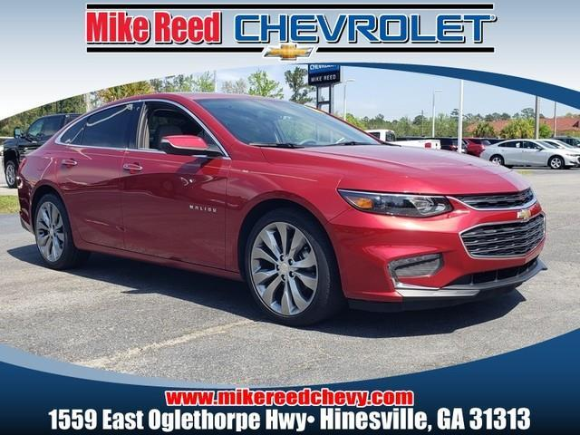 2016 Chevrolet Malibu PREMIER 4dr Car Slide 0