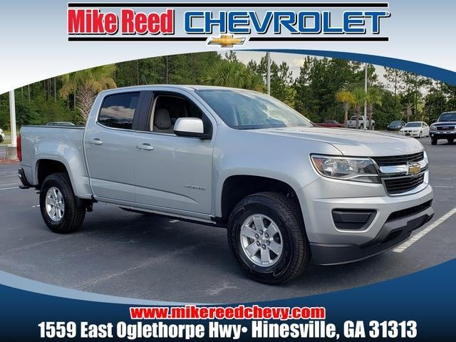 2019 Chevrolet Colorado WORK TRUCK Crew Cab Pickup Slide 0