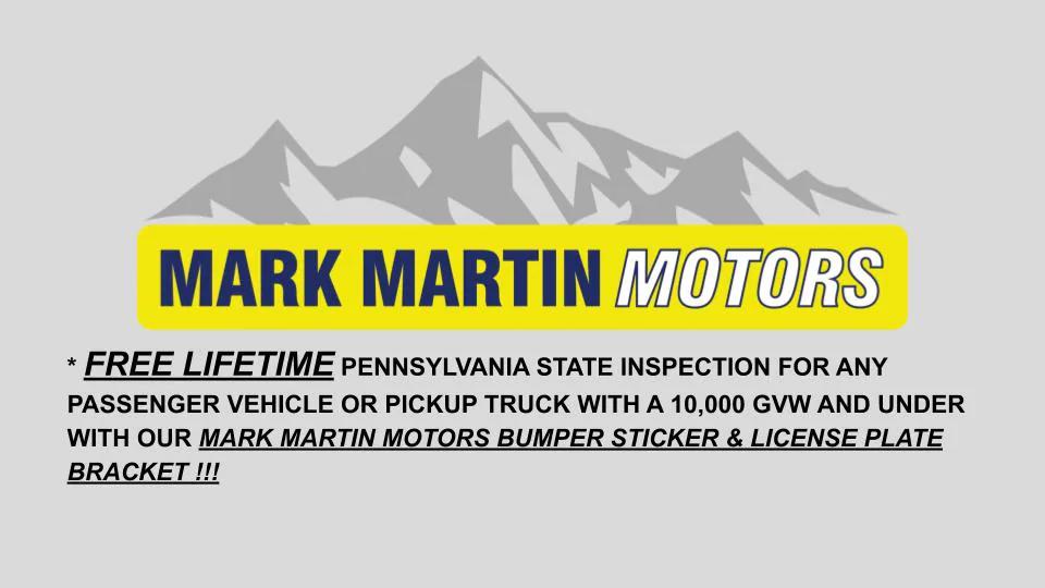 Mark Martin Lifetime Warranty