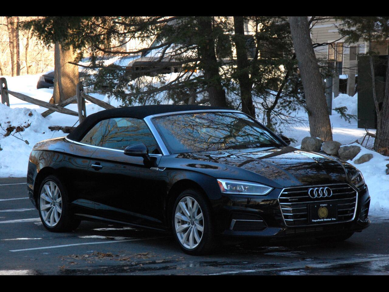 2018 Audi A5 Cabriolet Premium Plus
