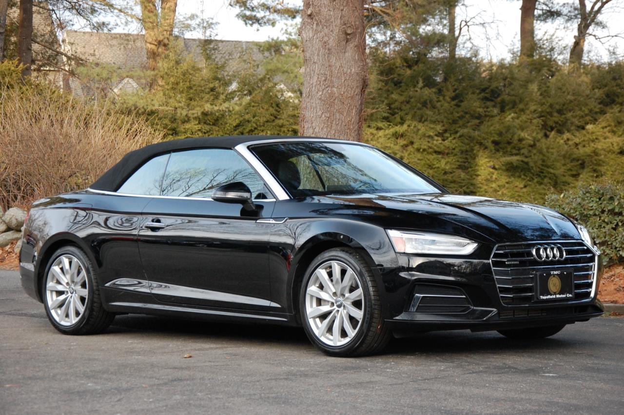 2018 Audi A5 Cabriolet Premium