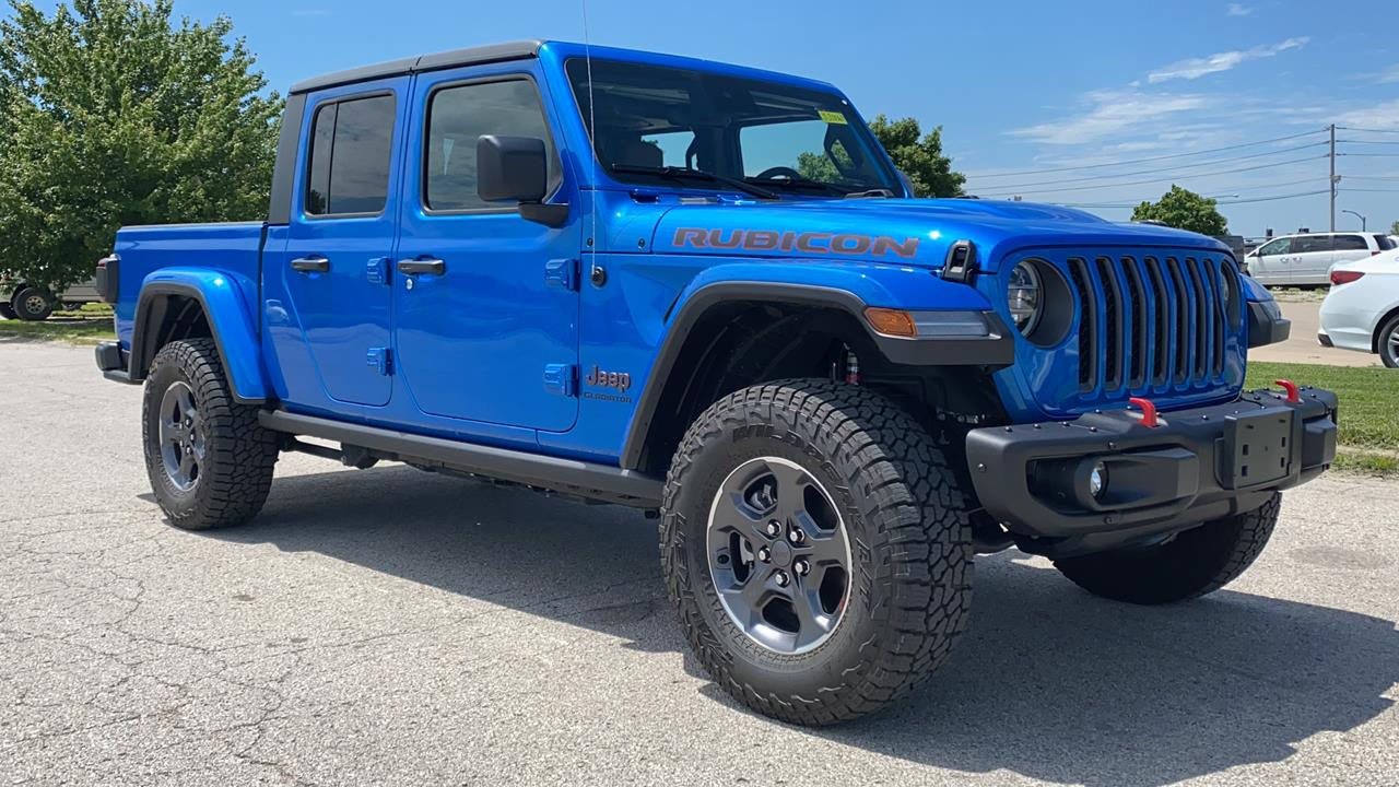 new 2020 jeep gladiator rubicon four wheel drive crew cab