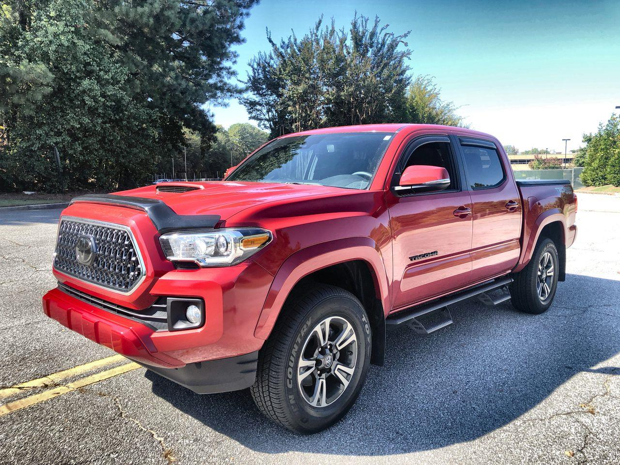 2018 Toyota Tacoma Double Cab TRD Sport Pickup 4D 5 ft
