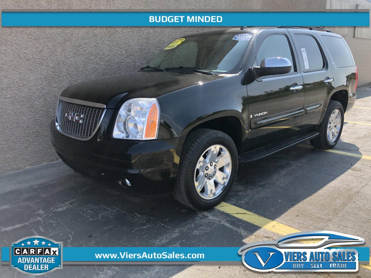 2008 GMC Yukon SLT 4WD