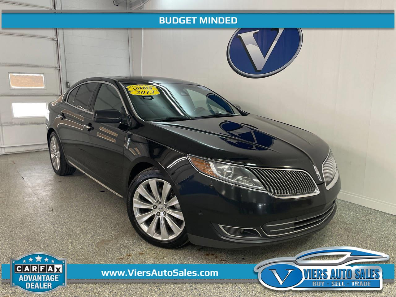 2013 Lincoln MKS EcoBoost 4WD