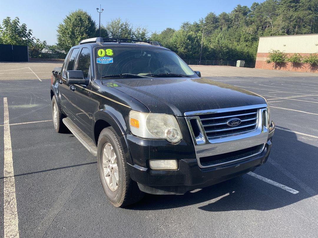 2008 Ford Explorer Sport Trac Limited Sport Utility Pickup 4D