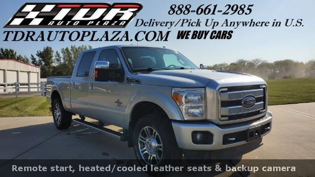 2015 Ford F-250SD Platinum