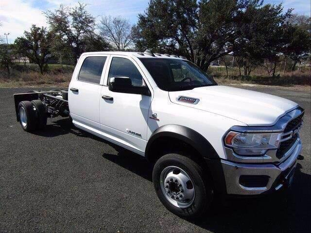 2020 RAM 5500 Chassis Cab TRADESMAN CHASSIS CREW CAB 4X4 84 CA