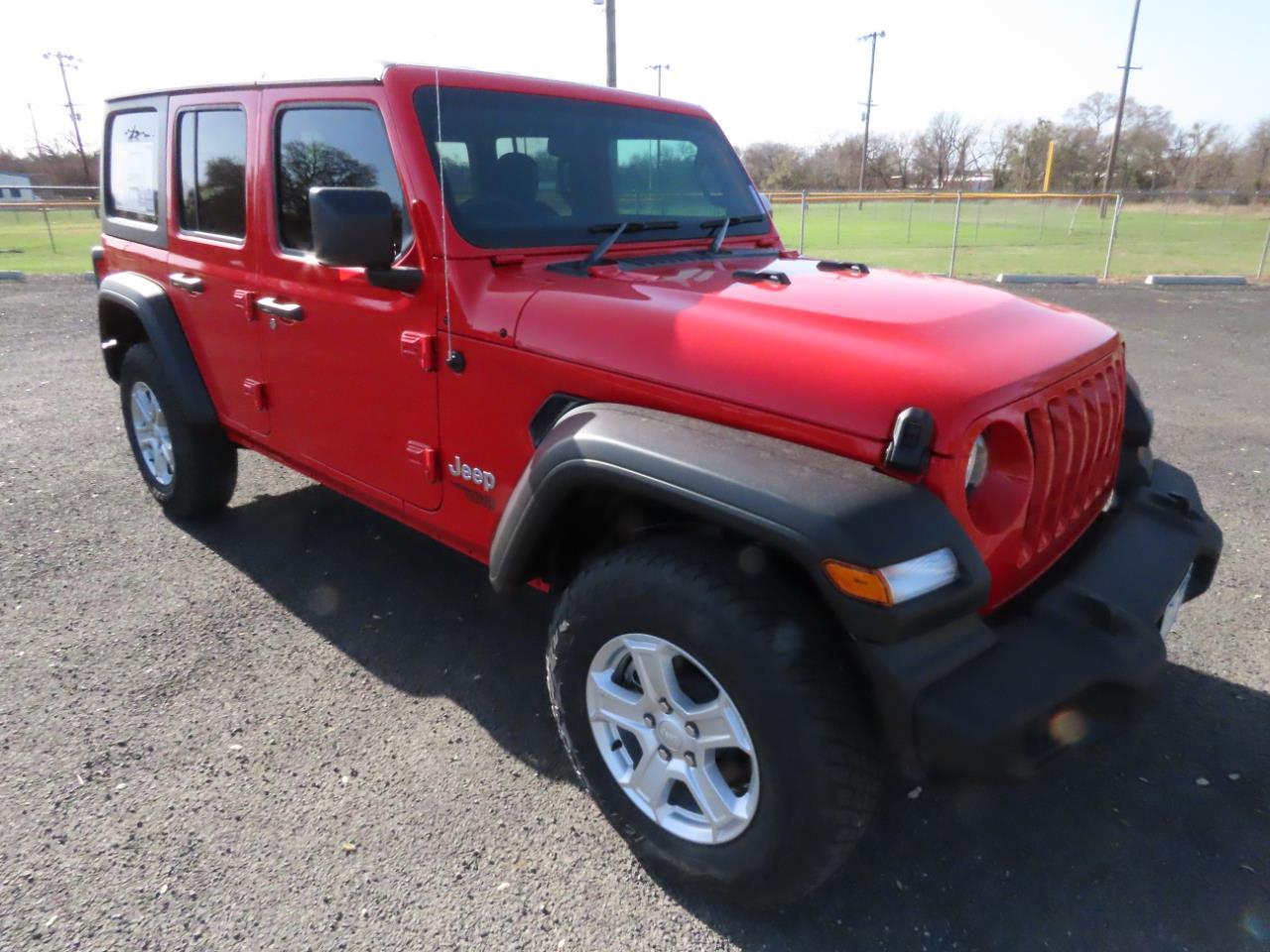 2021 Jeep Wrangler Sport