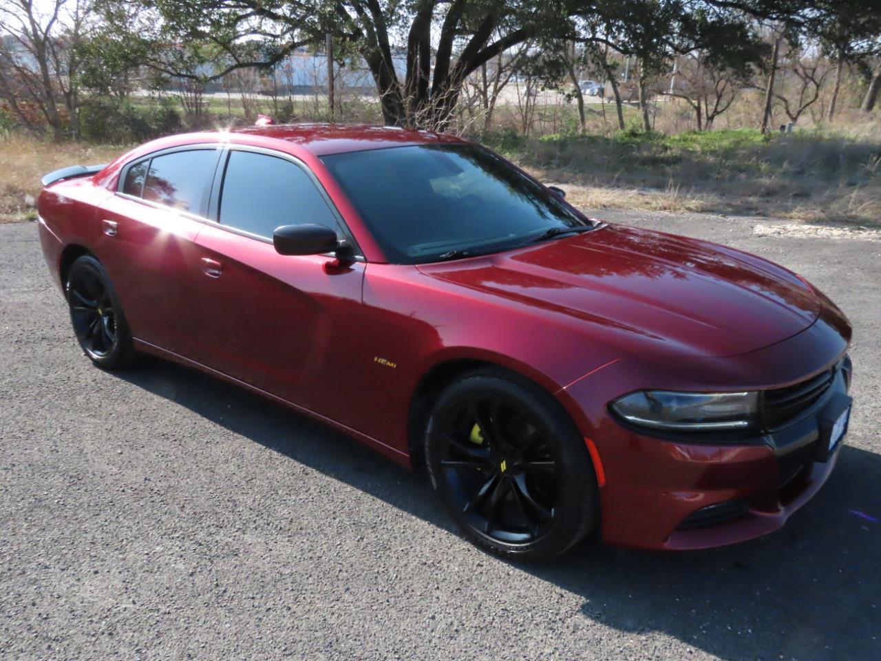 2018 Dodge Charger R/T BLACKTOP