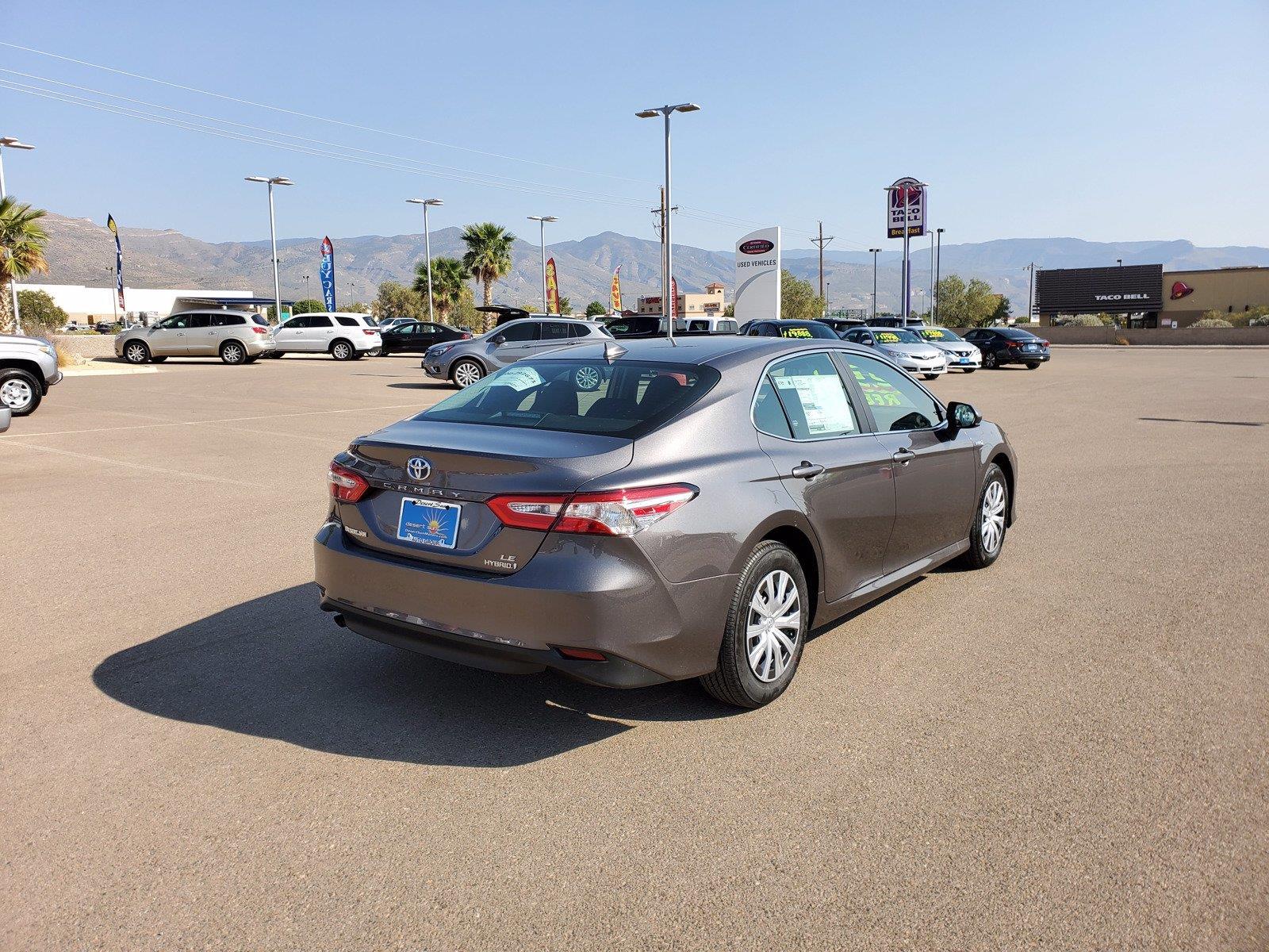 New 2020 Toyota Camry Hybrid Hybrid LE